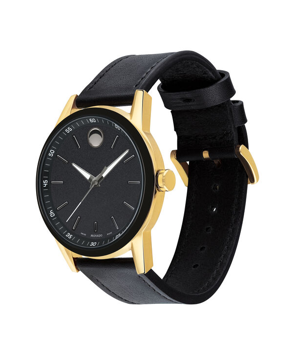 MOVADO Museum Sport0607223 – Men's 42 mm strap watch - Side view