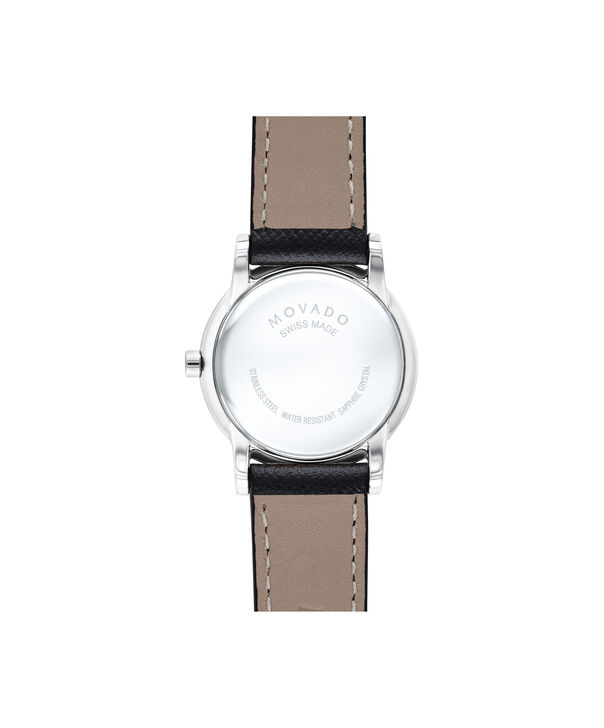 MOVADO Museum Classic0607204 – Women's 28 mm strap watch - Back view