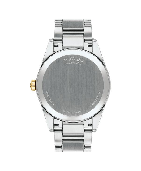 MOVADO Stratus0607245 – Montre-bracelet à cadran de 40 mm pour hommes - Back view