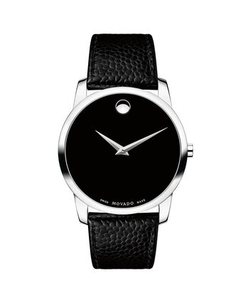 MOVADO Museum Classic 0607012 – Men's 40 mm strap watch - Front view