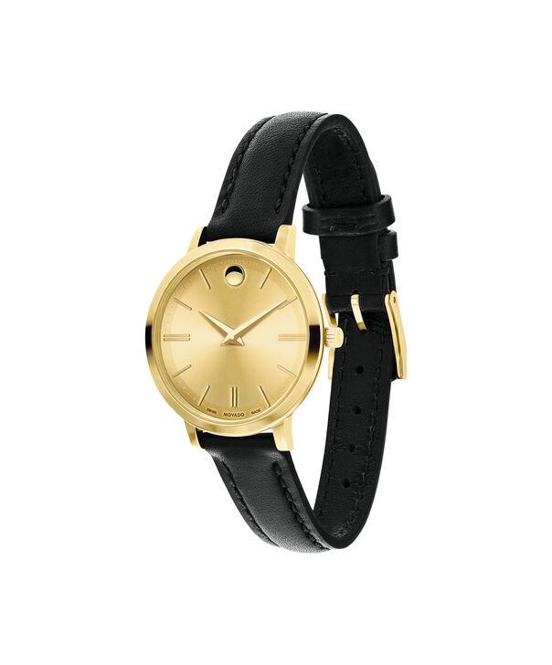 MOVADO Movado Ultra Slim0607158 – Montre de 28 à bracelet souple pour femmes - Side view