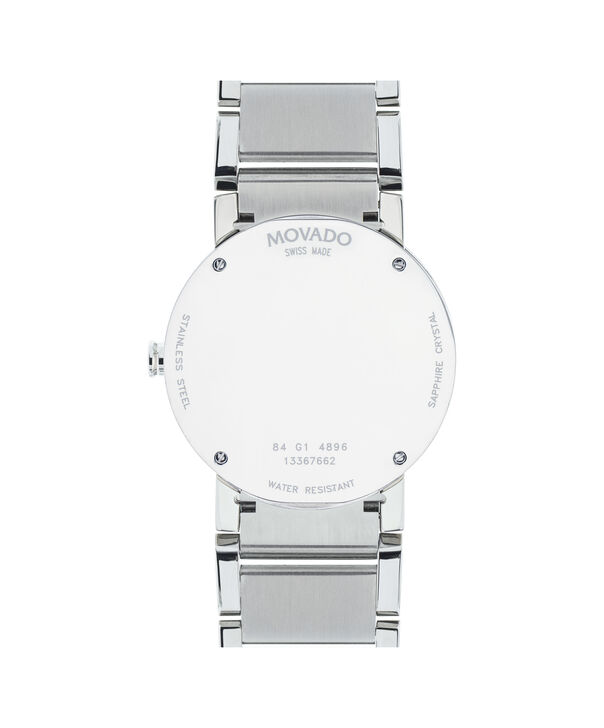 MOVADO Sapphire0606093 – Montre-bracelet à cadran de 38 mm pour hommes - Back view