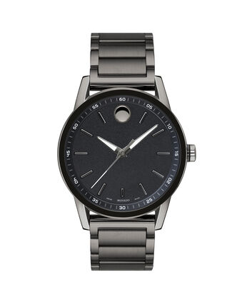 MOVADO Museum Sport0607226 – Men's 43 mm bracelet watch - Front view