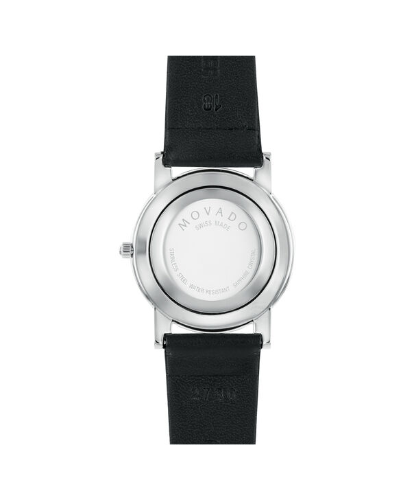 MOVADO Moderna0604230 – Men's 31 mm strap watch - Back view