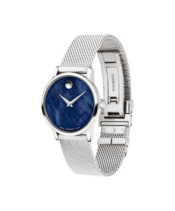 MOVADO Museum Classic0607425 – 28mm Museum Classic on Mesh - Side view