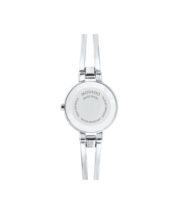 MOVADO Amorosa0607153 – Women's 24 mm bangle watch - Back view