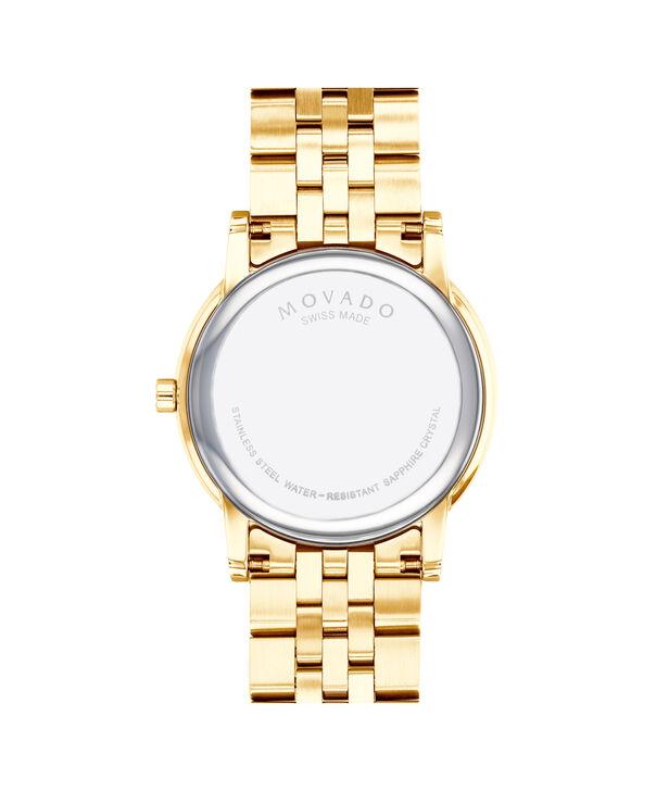 MOVADO Museum Classic0607203 – Men's 40 mm bracelet watch - Back view