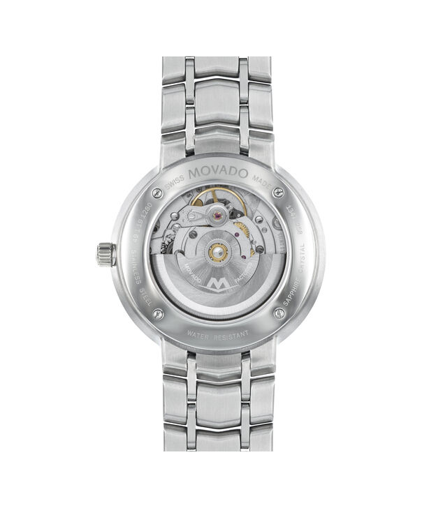 MOVADO 1881 Automatic0606914 – Men's 39.5 mm automatic 3-hand - Back view