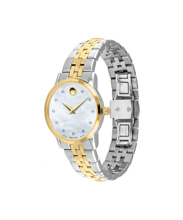 MOVADO Museum Classic0607208 – Women's 28 mm bracelet watch - Side view