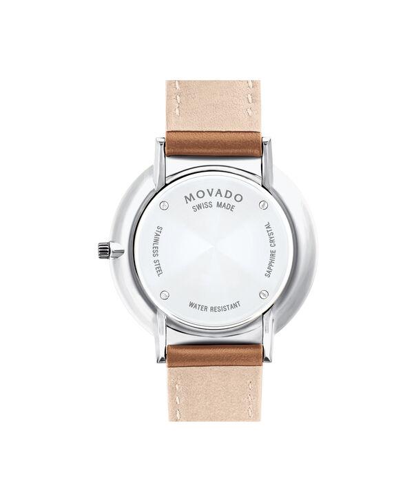 MOVADO Movado Ultra Slim0607371 – Ultra Slim 35 mm, bracelet en cuir - Back view
