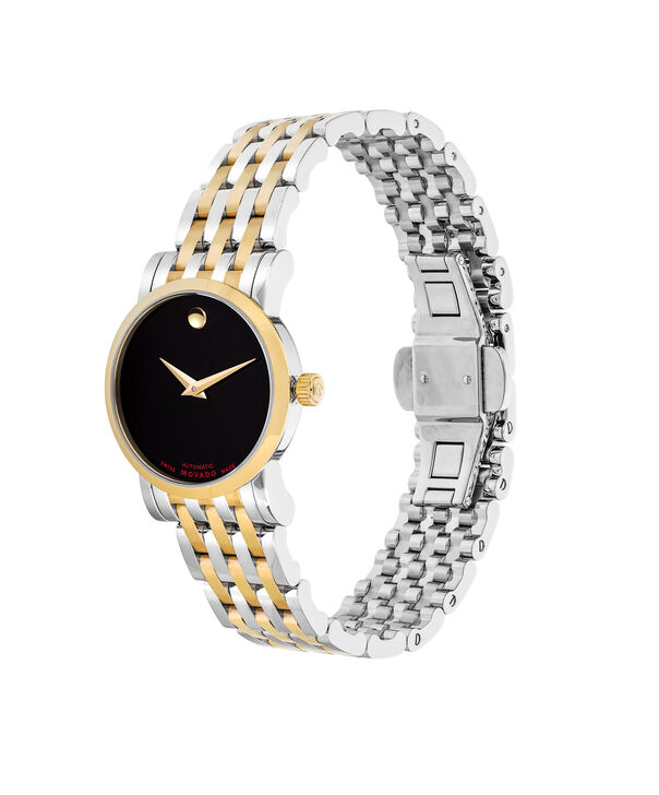 MOVADO Red Label0607011 – Women's 26 mm automatic strap watch - Side view