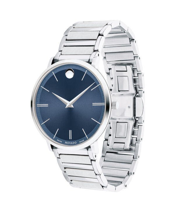 MOVADO Movado Ultra Slim0607168 – Men's 40 mm bracelet watch - Side view