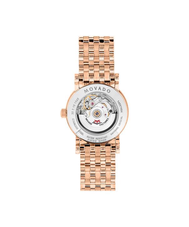 MOVADO Red Label0607064 – Montre-bracelet à cadran automatique de 42 mm pour femme - Back view