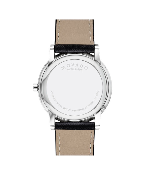 MOVADO Museum Classic0607197 – Men's 40 mm strap watch - Back view