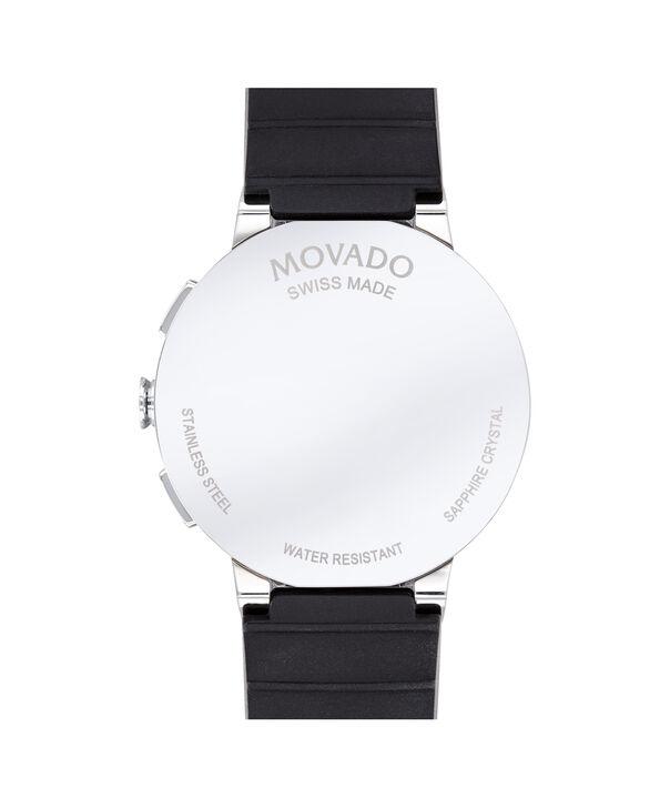 MOVADO Sapphire0607240 – Men's 43 mm strap chronograph watch - Back view