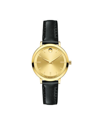 MOVADO Movado Ultra Slim0607158 – Women's 28 mm strap watch - Front view