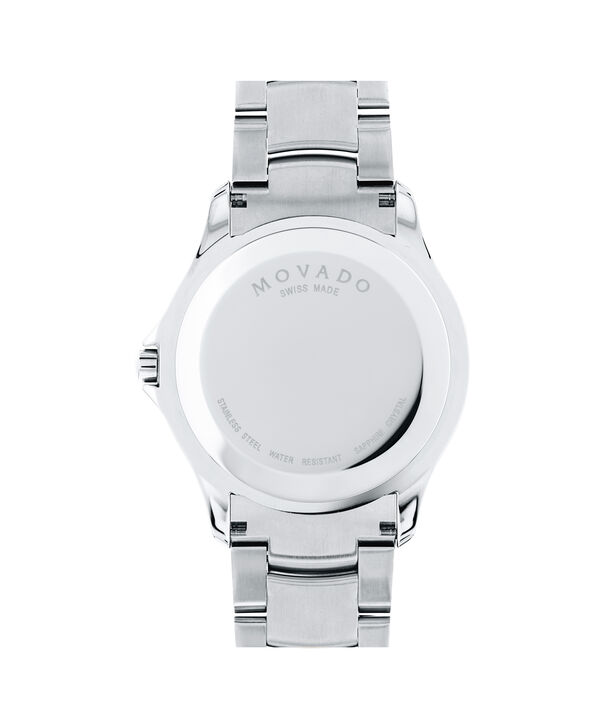 MOVADO Masino0607033 – Men's 40 mm bracelet watch - Back view