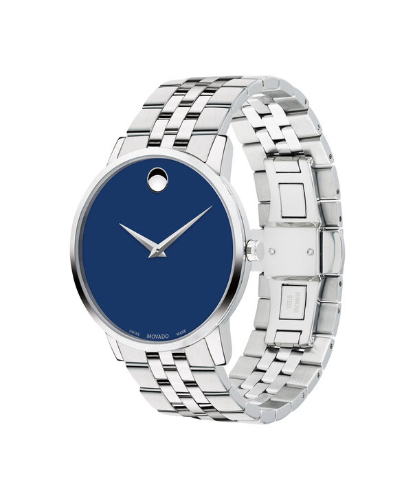 MOVADO Museum Classic0607212 – Men's 40 mm bracelet watch - Side view