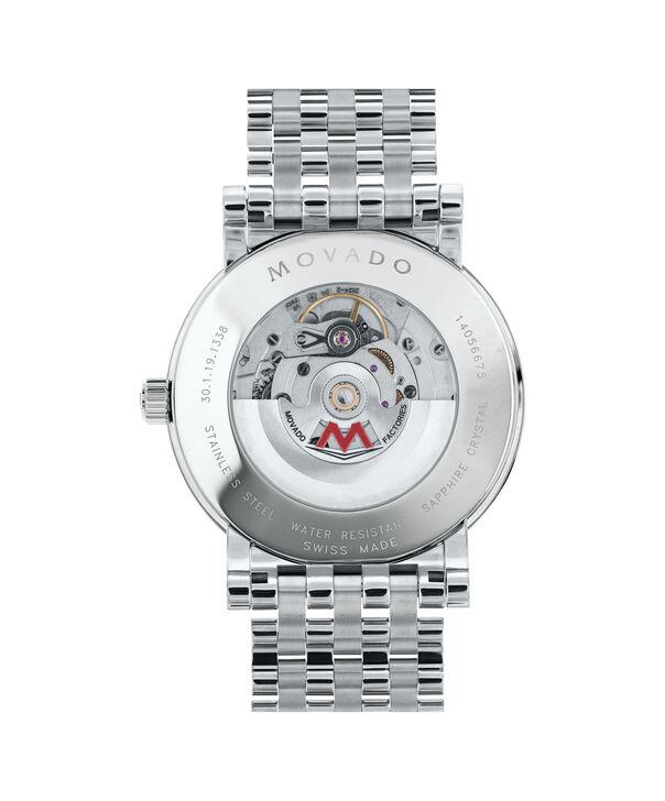 MOVADO Red Label0607008 – Montre-bracelet à cadran automatique de 42 mm pour hommes - Back view