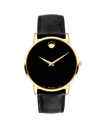 MOVADO Museum Classic0607195 – Men's 40 mm strap watch - Front view