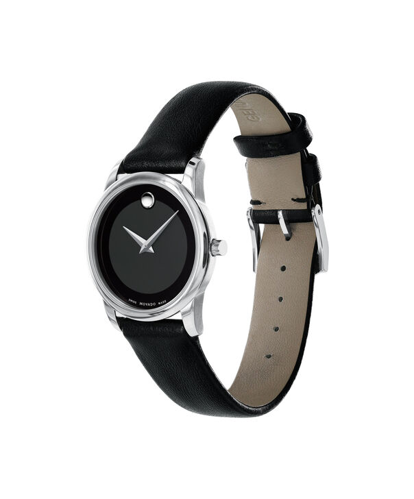 MOVADO Museum Classic0606503 – Women's 28 mm strap watch - Side view