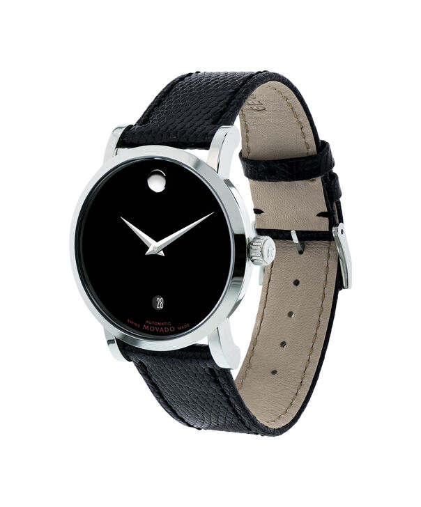 MOVADO Red Label0606114 – Men's 38 mm automatic strap watch - Side view