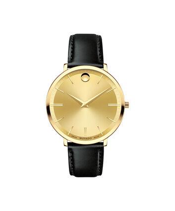 MOVADO Movado Ultra Slim0607157 – Montre de 35 à bracelet souple pour femmes - Front view