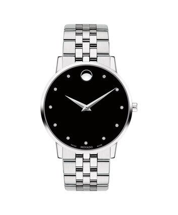 MOVADO Museum Classic0607201 – Montre-bracelet à cadran de 40 mm pour hommes - Front view