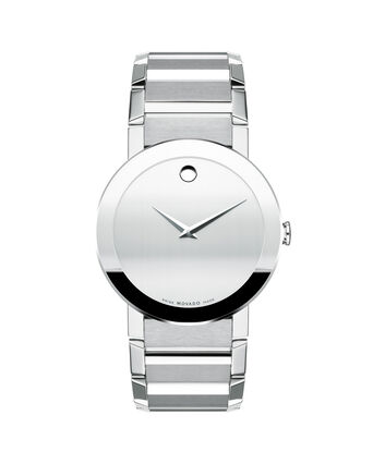 MOVADO Sapphire0606093 – Men's 38 mm bracelet watch - Front view