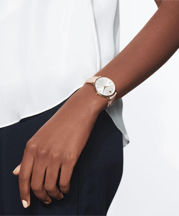 MOVADO Movado Ultra Slim0607373 – Ultra Slim de 24 mm, bracelet en cuir - Other view