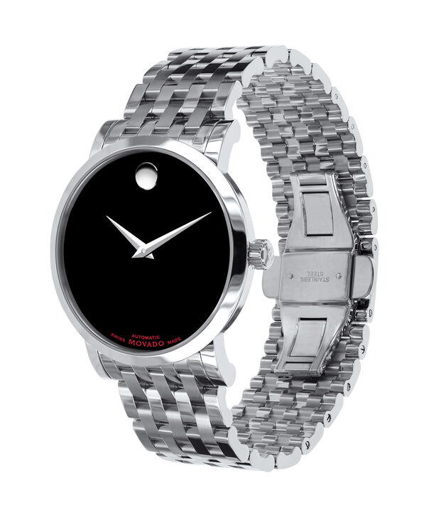 MOVADO Red Label0606283 – Men's 42 mm automatic strap watch - Side view
