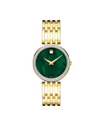 MOVADO Esperanza0607233 – Montre-bracelet à cadran de 28 mm pour femmes - Front view