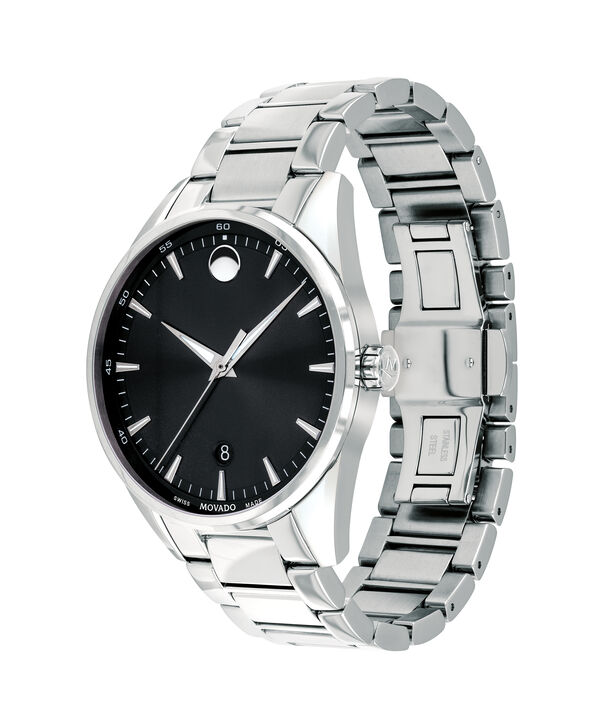 MOVADO Stratus0607243 – Montre-bracelet à cadran de 40 mm pour hommes - Side view