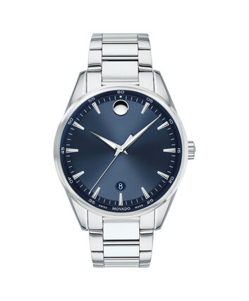 MOVADO Stratus0607244 – Men's 40 mm bracelet watch - Front view