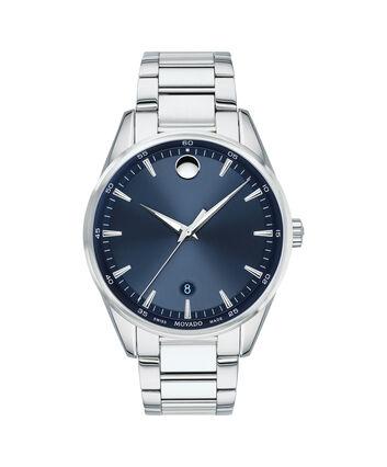 MOVADO Stratus0607244 – Montre-bracelet à cadran de 40 mm pour hommes - Front view