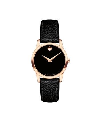 MOVADO Museum Classic0607061 – Montre à bracelet-jonc de 28 mm pour femmes - Front view