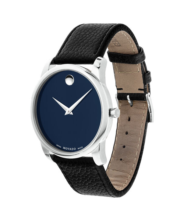 MOVADO Museum Classic0607013 – Men's 40 mm strap watch - Side view