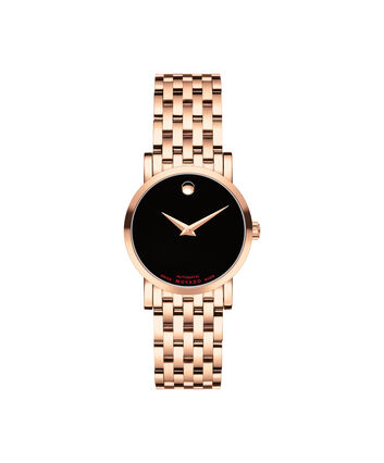 MOVADO Red Label0607064 – Montre-bracelet à cadran automatique de 42 mm pour femme - Front view