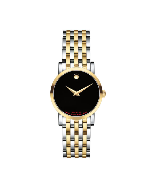 Movado | Red Label Women's Stainless Steel and Yellow gold PVD-finished Automatic Watch