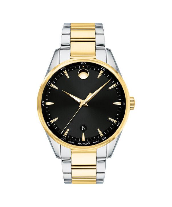 MOVADO Stratus0607245 – Montre-bracelet à cadran de 40 mm pour hommes - Front view