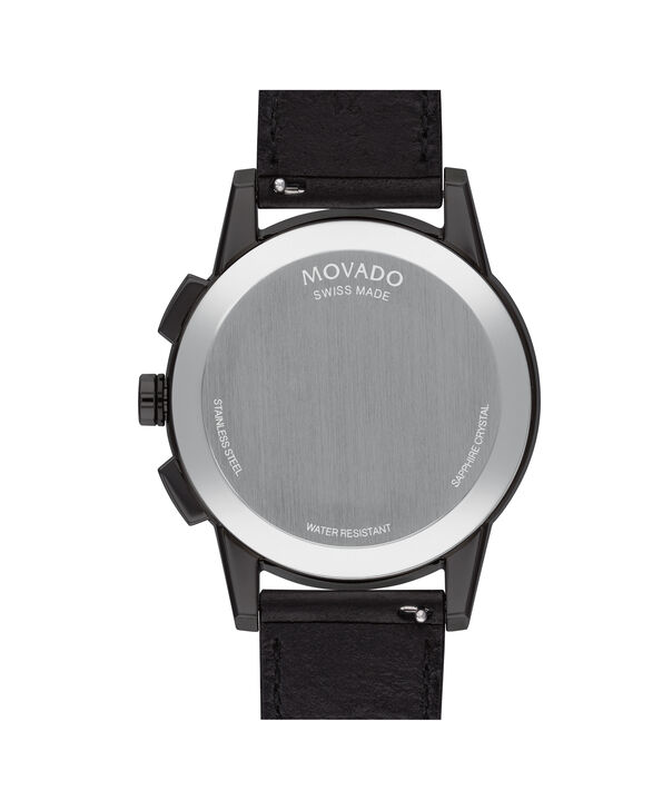 MOVADO Museum Sport0607360 – Chrono. Museum Sport 43 mm, brac. souple - Back view
