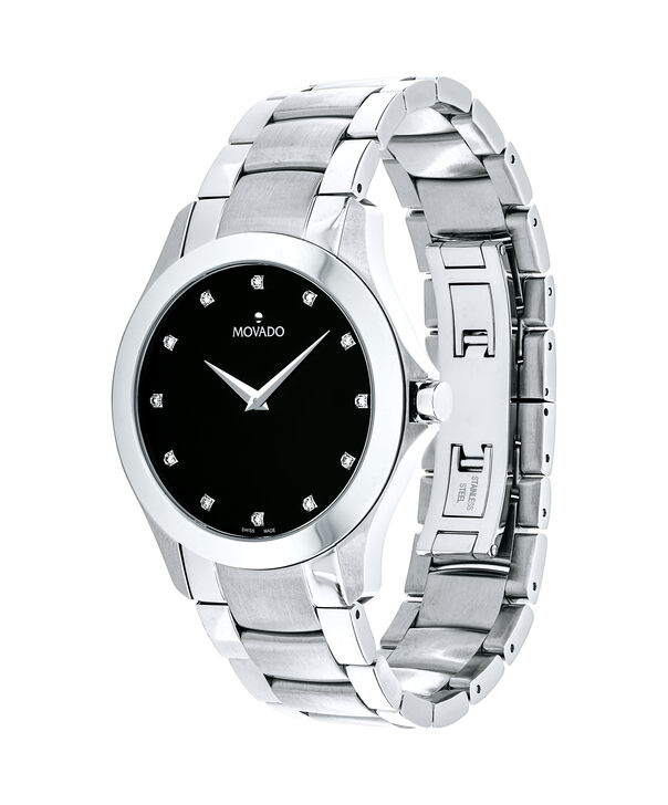 MOVADO Masino0607036 – Men's 40 mm bracelet watch - Side view