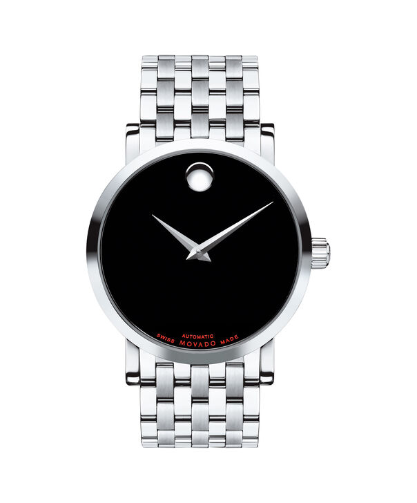 MOVADO Red Label0606283 – Men's 42 mm automatic strap watch - Front view