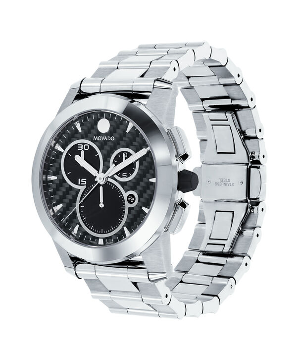 MOVADO Vizio0606551 – Men's 44.5 mm bracelet chrono - Side view
