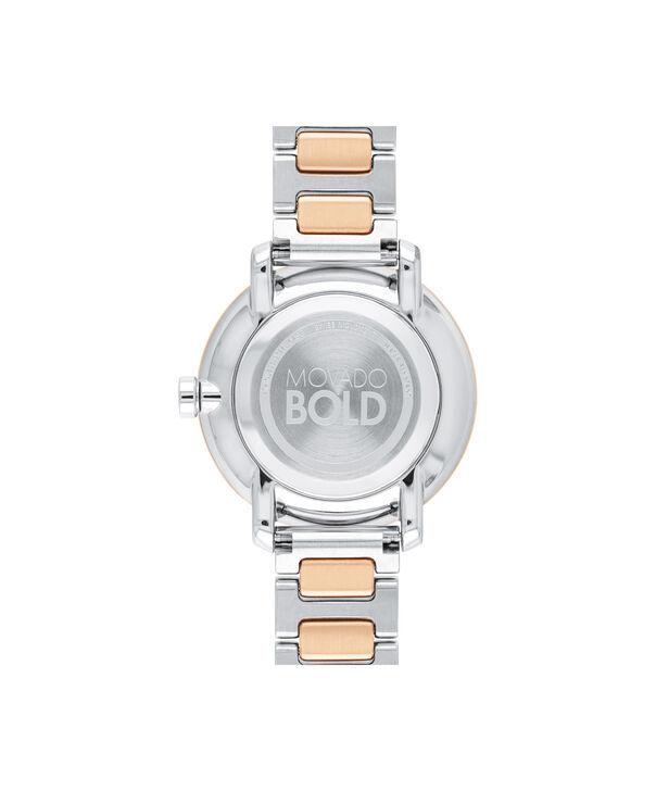 MOVADO Movado BOLD3600504 – Montre de 34 mm avec bracelet en métal - Back view