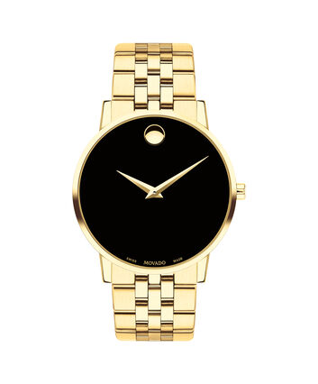 MOVADO Museum Classic0607203 – Men's 40 mm bracelet watch - Front view