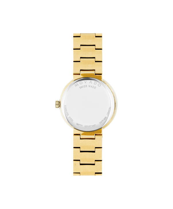 MOVADO Sapphire0607214 – Women's 26 mm bracelet watch - Back view