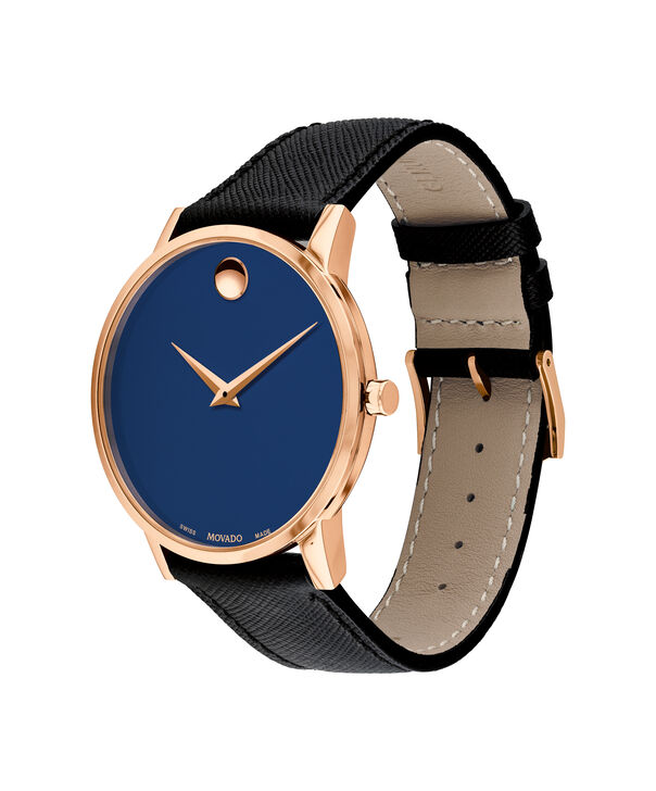 MOVADO Museum Classic0607266 – Men's 42 mm strap watch - Side view