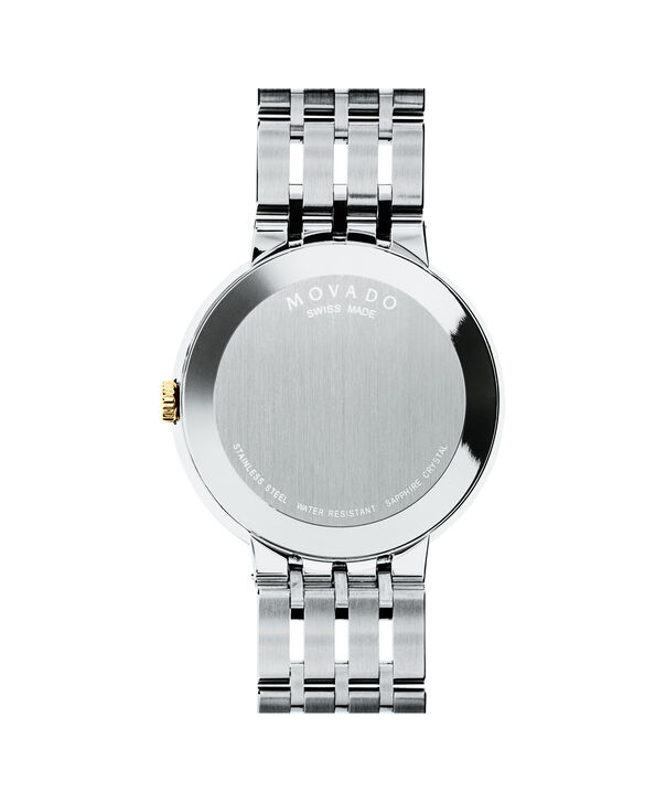 MOVADO Esperanza0607058 – Men's 39 mm bracelet watch - Back view