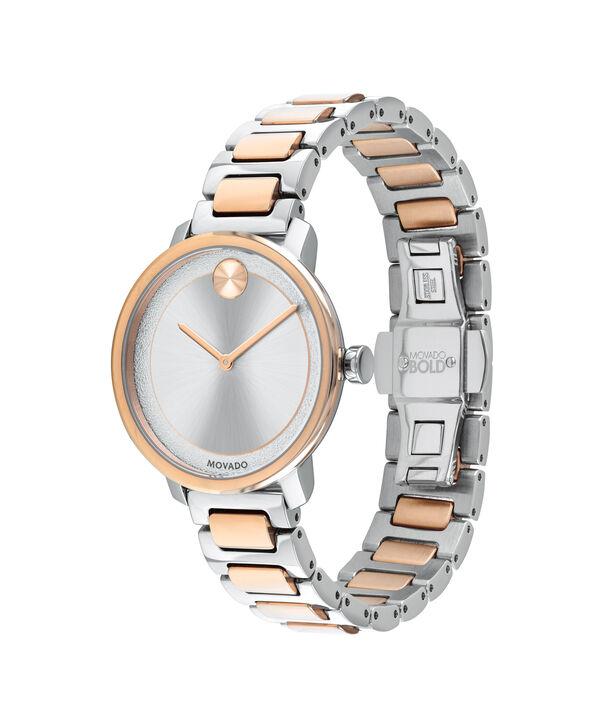 MOVADO Movado BOLD3600504 – Montre de 34 mm avec bracelet en métal - Side view